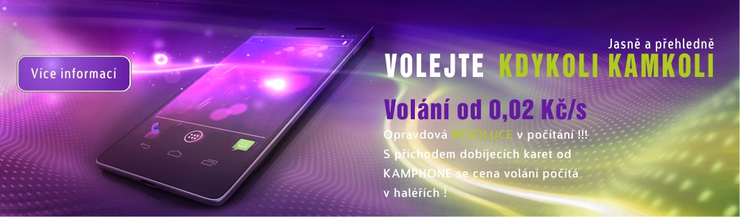 KAM PHONE - vol�n� od 0,02 K� / s